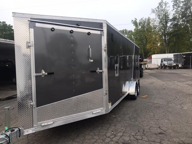 7 X 27 Tandem Axle Snowmobile Trailer
