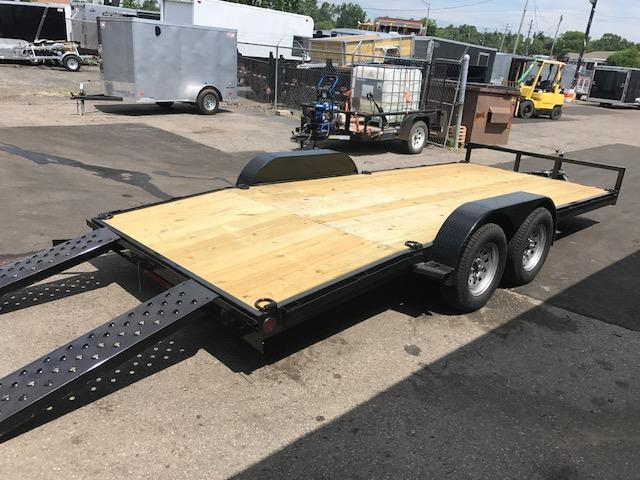 "82"" X 18'  Open Car Hauler / Flatbed Trailer"