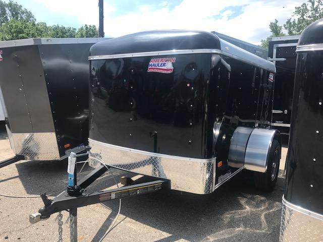 5 X 8 Single Axle Enclosed Trailer