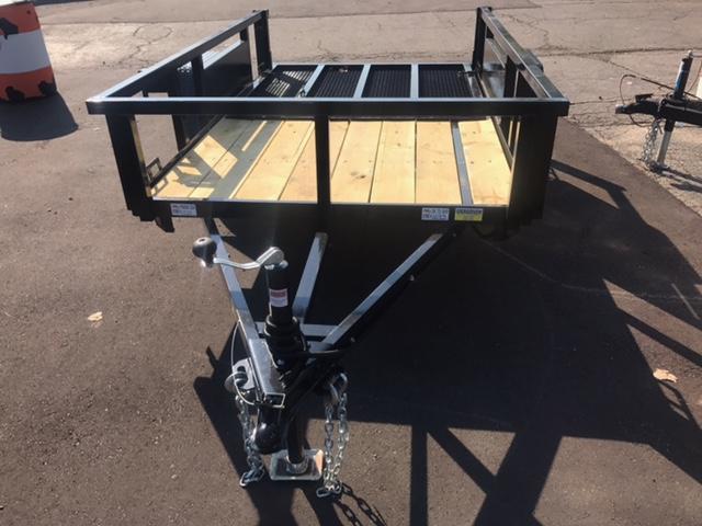 5 X 8 Single Axle Open Utility Trailer
