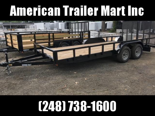 83 x 18 open landscape trailer american trailer mart of waterford rh americantrailermart com Bi- Wire Speakers Regular Way Bi Xenon HID Kit Install Nation