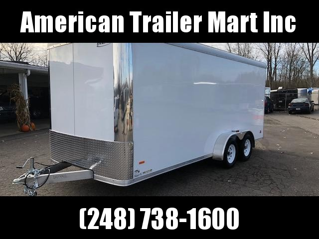 7 X 18 Tandem Axle Enclosed Trailer