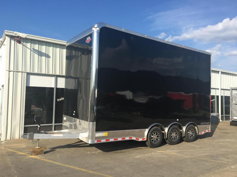 2017 Cargo Mate 20 Stacker Aluminum Car Racing Trailer