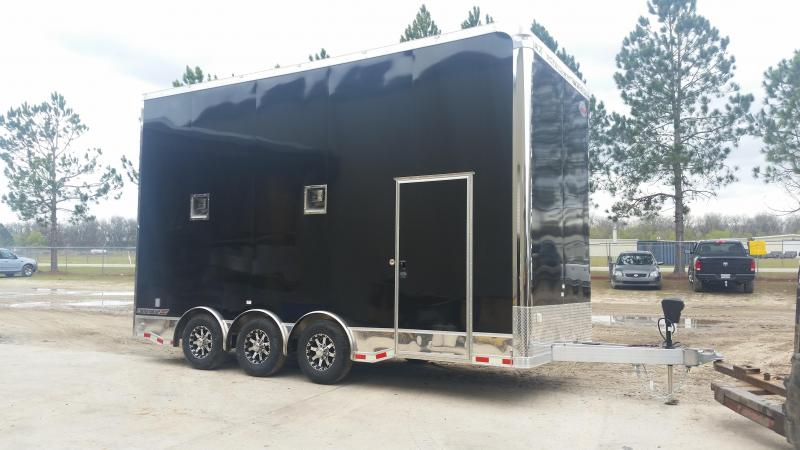 how to build open stacker trailer