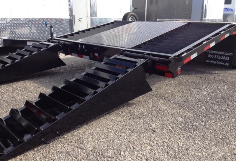 2015 Big Tex Trailers 22GN-35' + 5' CP Equipment Trailers