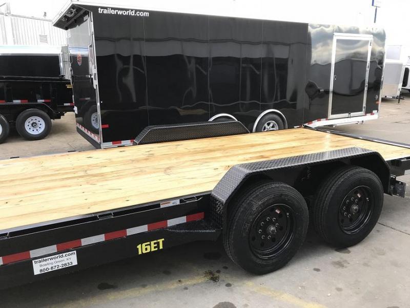 2018 Big Tex NEW MODEL 16ET-20'  Flatbed Equipment Trailer 8 Ton