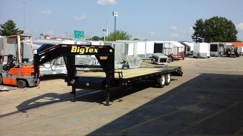 2017 big tex trailers 14gn 20 5 flatbed mega ramps equipment 2017 big tex trailers 14gn 20