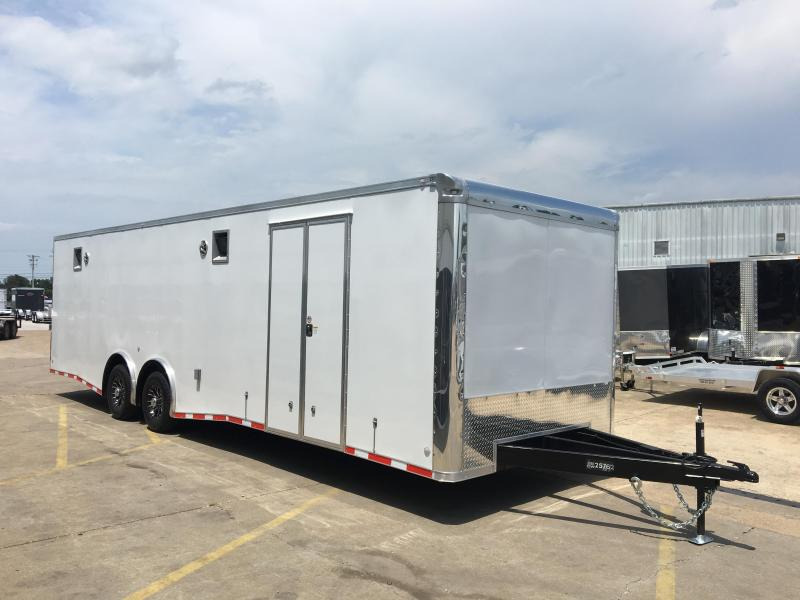 Spread Axle Trailer Weights : Enclosed car trailers trailer world of bowling green ky