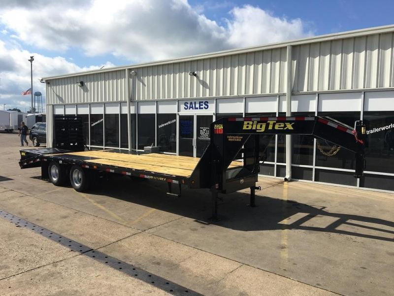 2017 big tex trailers 22gn 25 5 flatbed mega ramps equipment 2017 big tex trailers 22gn 25 5 flatbed mega ramps equipment trailers