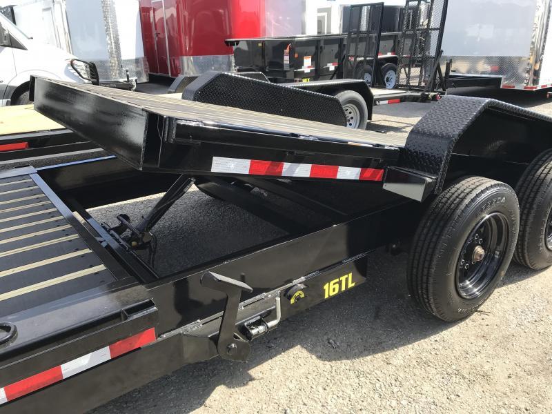 2018 Big Tex Trailers 16TL-22' 16' Tilt Bed + 6' Front Equipment Trailer