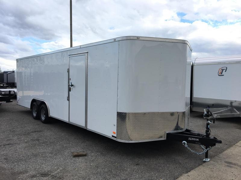 2018 CW 24\' Enclosed Vnose Car Trailer 7k GVWR | Trailer World of ...