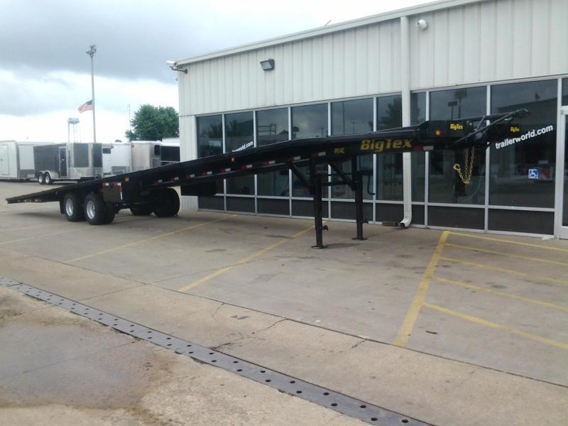2018 big tex trailers 20ac 51 u0026 39  3 car wedge trailer