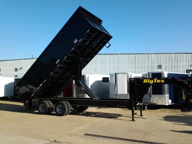 2017 Big Tex Trailers 25DU-20' Dump Trailer 25900 GVWR
