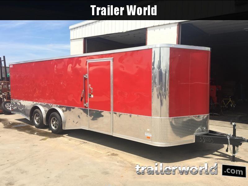 2018 CW 24' Spread Axle Car Trailer 10k GVWR