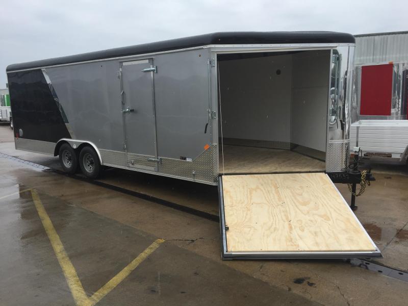 2016 United Trailers UC 27' Enclosed Car / ATV Trailer