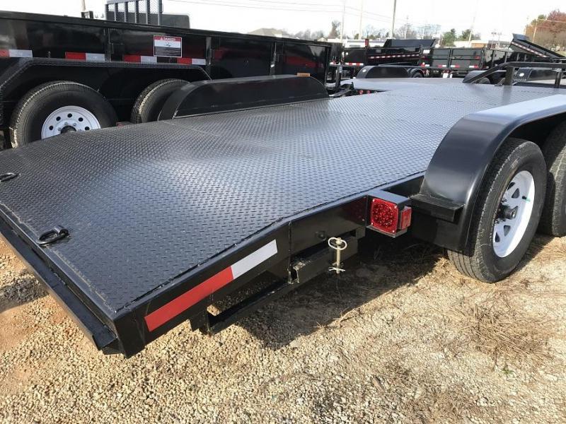 2017 Top L 18 Steel Deck Open Car Flatbed Trailer Trailer World