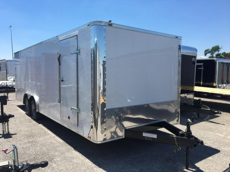 2017 Lark 24 Enclosed Car Hauler Trailer 10k Gvwr Trailer World