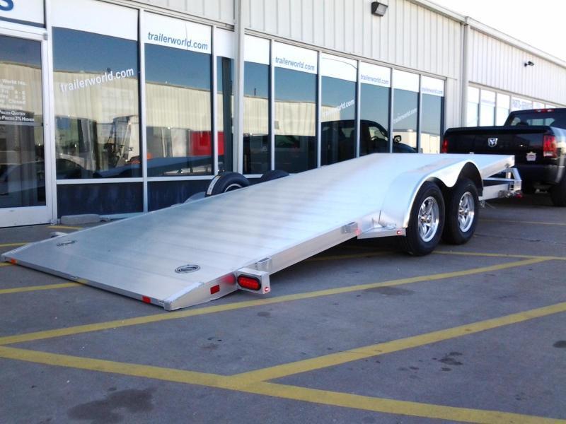 Used Aluminum Open Car Hauler For Sale