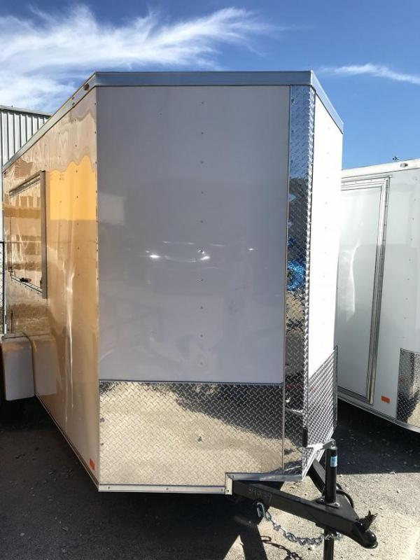 2018 CW 6' x 12' x 6.5' Vending / Concession Trailer