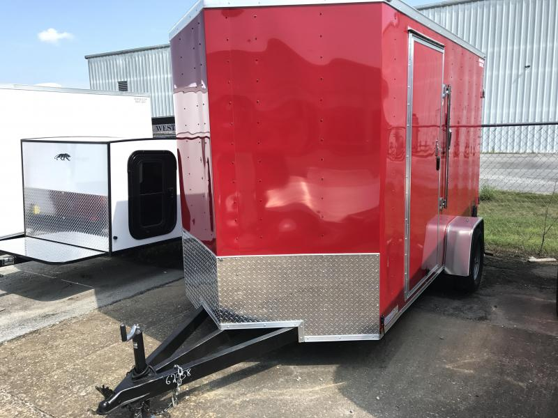 2018 Lark 6' x 12' x 6.5' Vending / Concession Trailer