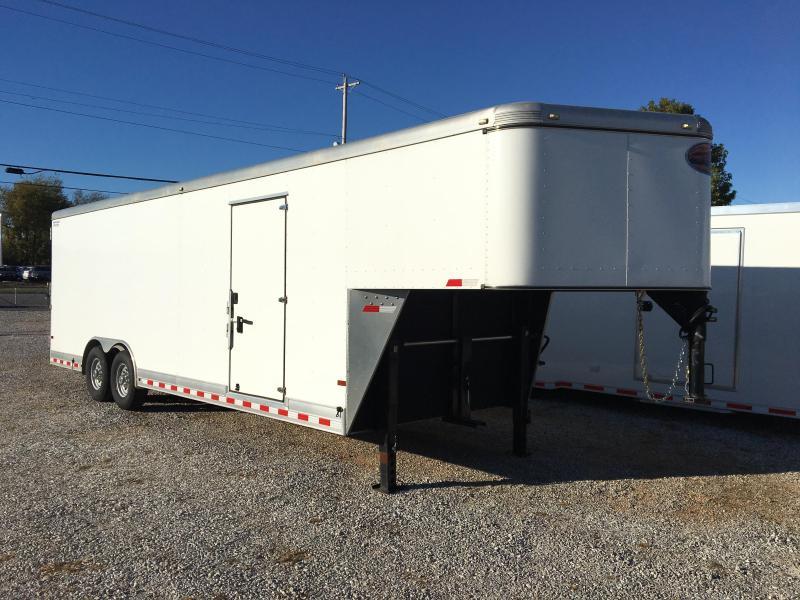 2014 Sundowner 32' Gooseneck Aluminum Cargo Trailer
