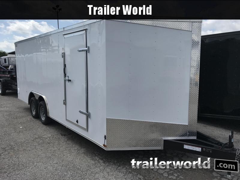 2018 Lark 22' + V  Enclosed Car Trailer