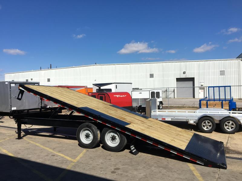 2017 Sure-Trac 22 deck over tiltbed