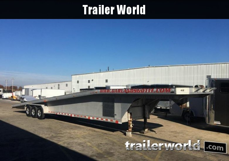 1999 Tommy S 48 Aluminum 3 Car Hauler Trailer Trailer World Of