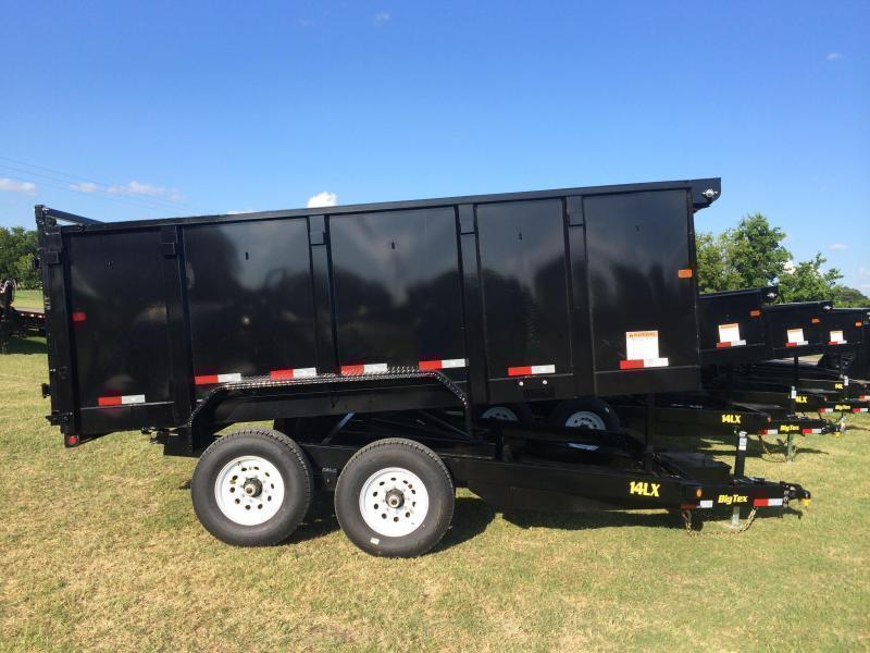2018 Big Tex Trailers 14LX14 Dump Trailer w 4 Sides TARP