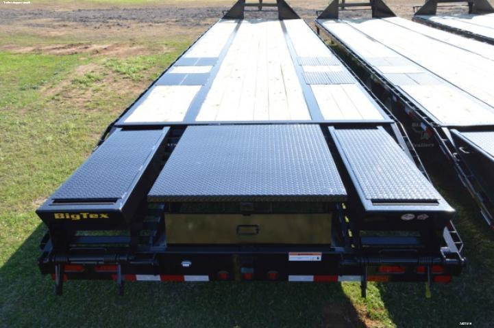 2016 Big Tex Trailers 22GN-28' + 5' CP Flatbed Equipment Trailers