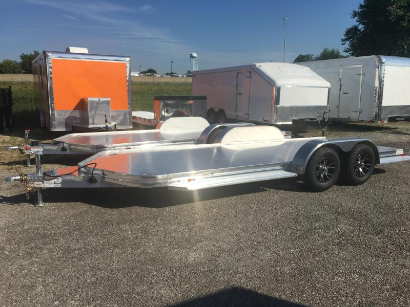 Used Aluminum Open  Car Trailer For Sale
