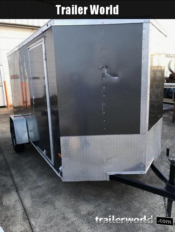 2016 Wells Cargo CargoTrac 6' x 12'  Enclosed Cargo Trailer