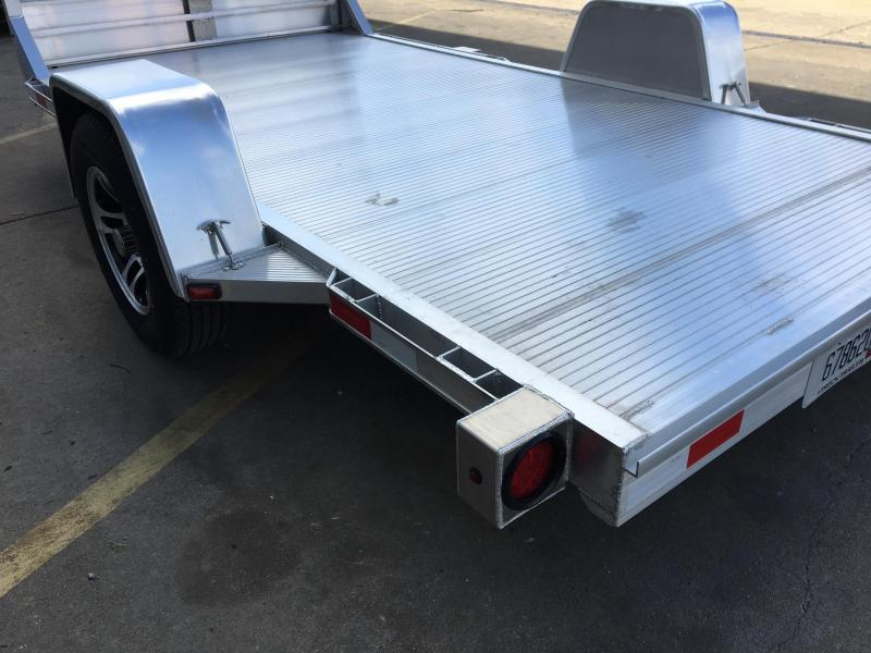 Single Axle Car Hauler : Open flatbed car haulers trailer world of bowling green