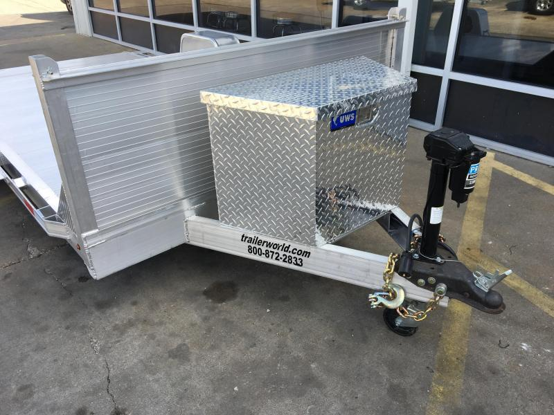 Pulling A Single Axle Open Trailer : Inventory trailer world of bowling green ky new and