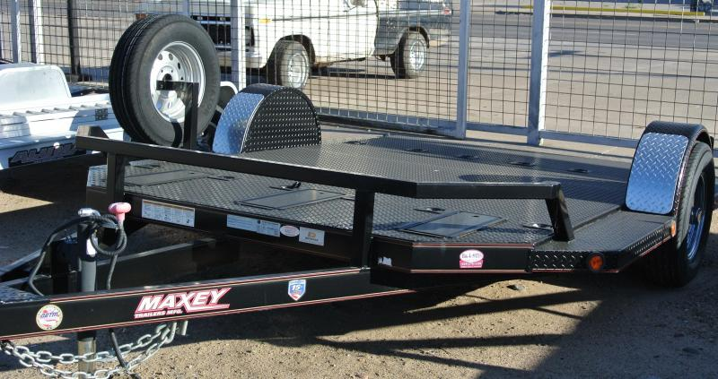 2014 Maxey MOTORCYCLE TRAILER Motorcycle Trailer
