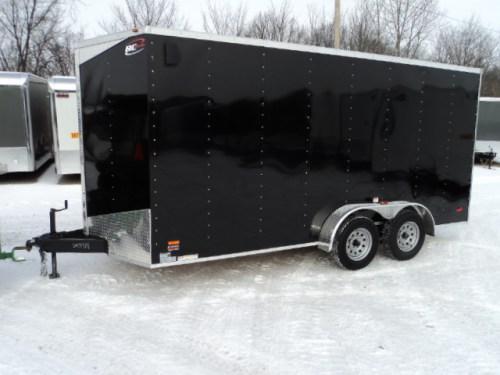 2018 RC 7x16 Enclosed Cargo Trailer STOCK- 3919