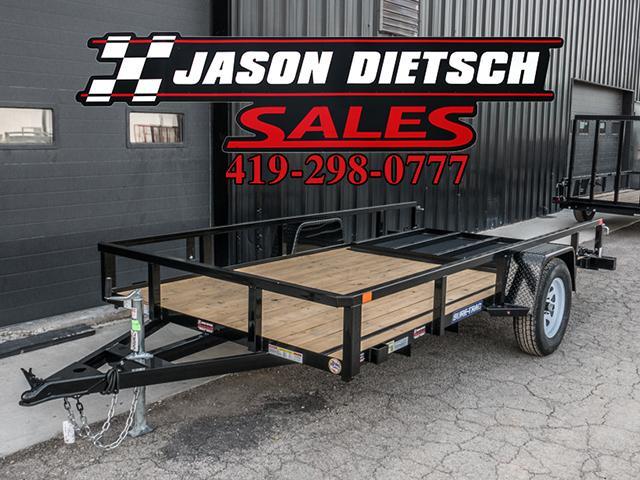 2017 Sure Trac 6x12 Utility Trailer....Stock# ST-7096