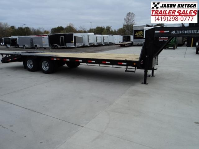 2018 Iron Bull 102x25 Tandem Axle Low Pro Gooseneck Trailer....Stock#IB-5776