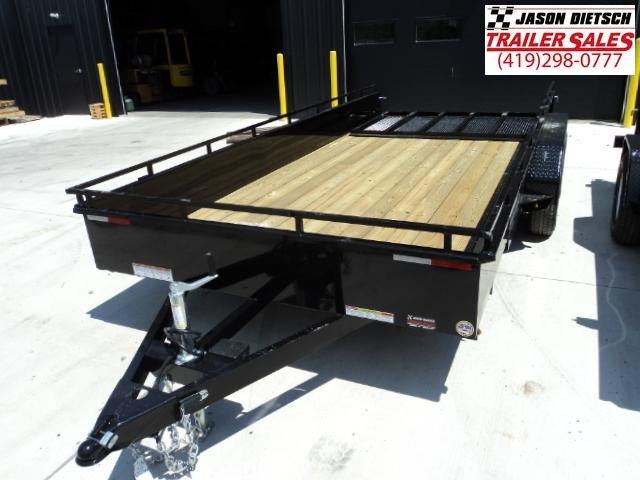 2018 SURE-TRAC 7x16 Steel High Side Trailer..... Stock # ST-2542