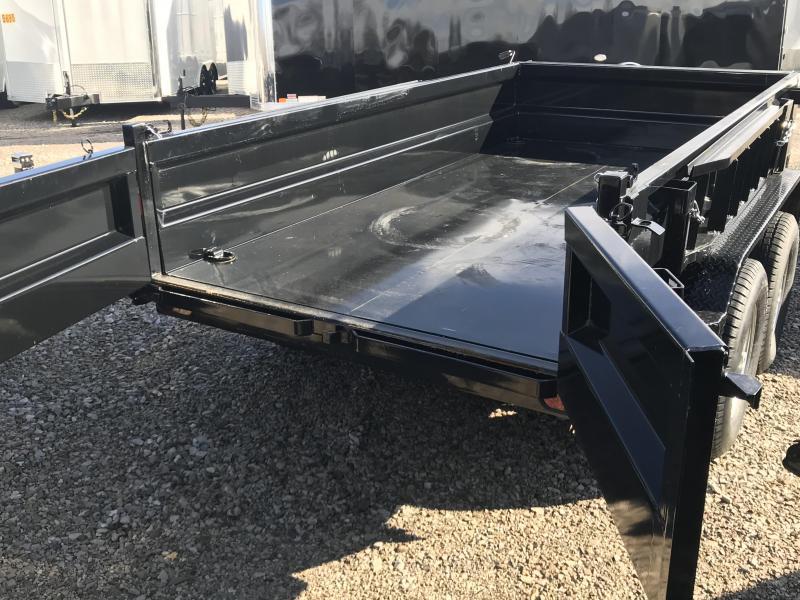 2018 Iron Bull 60x10 Tandem Axle Dump Trailer....Stock#IB-5162