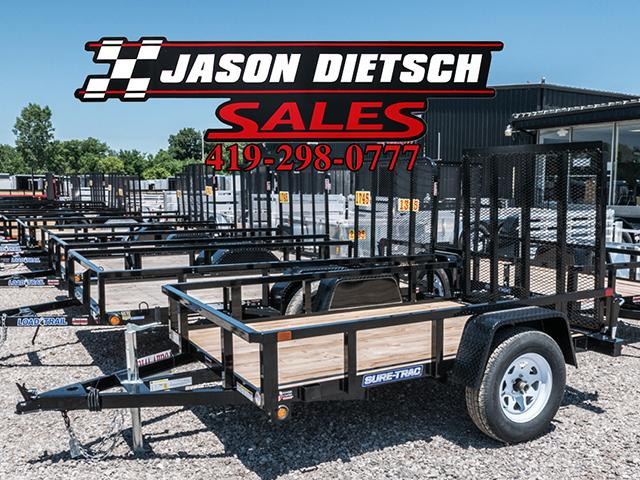 2017 Sure Trac 5x10 Tube Top Utility Trailer....Stock# ST-1144
