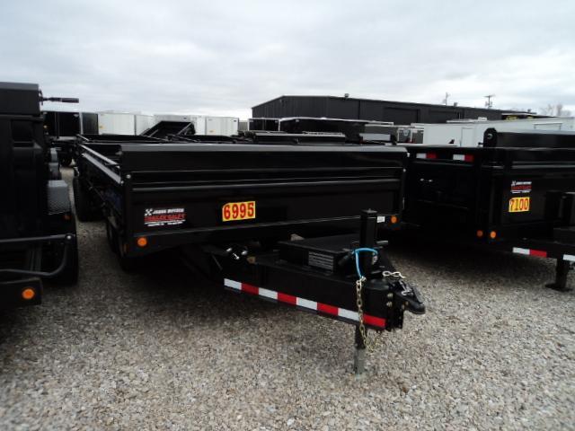 2017 Load Trail DT 96x14 Tandem Axle Pintle Hook Deck Over Dump Trailer....Stock#LT-31546