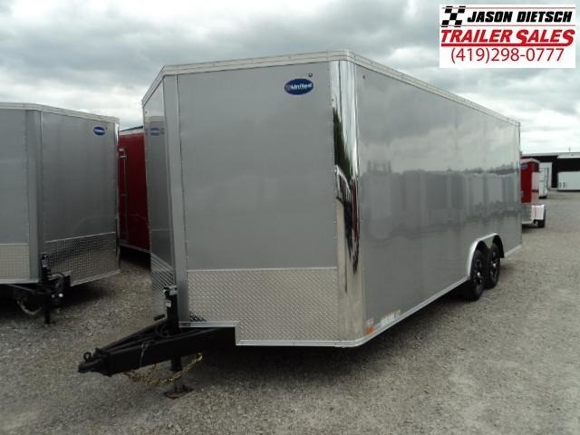 2018 United Trailers XLTV 8.5x23 Wedge-Nose Enclosed Carhauler....Stock # UN-158264