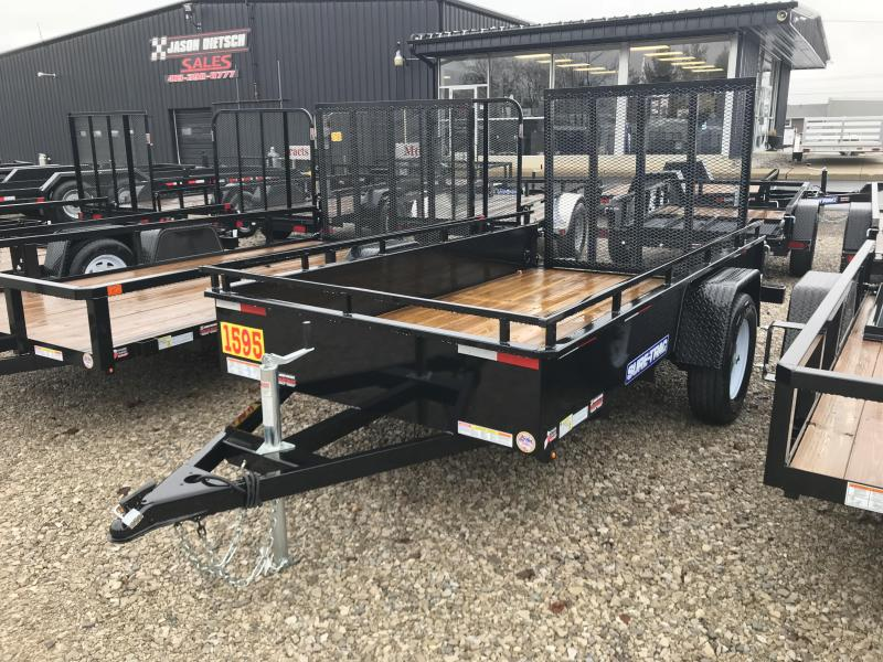 2018 SURE-TRAC 5x10 Steel High Side Trailer..... Stock # ST-2548