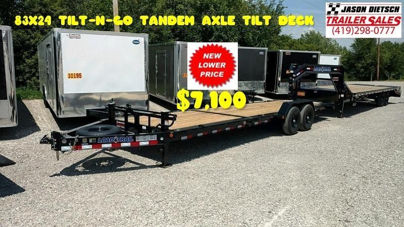 2019 Load Trail 83X24 TILT-N-GO TANDEM AXLE TILT DECK....LT- 170921