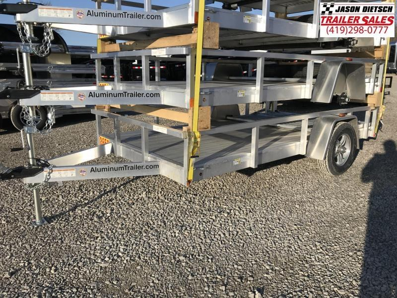 2018 ATC 6x12 All Aluminum Utility Trailer....Stock#AT-213356