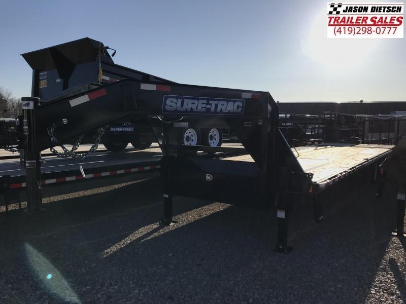 "2018 Sure-Trac 102""x25'+5 Equipment Trailer STOCK- 4771"