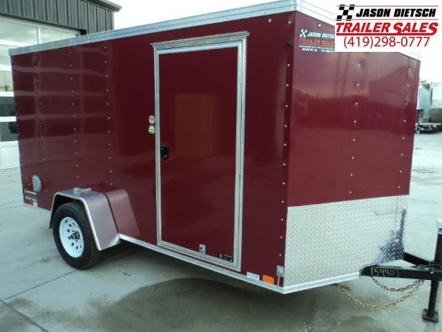 2018 United XLV 6X12 V-Nose Slant Enclosed Cargo Tr....Stock# UN-159407