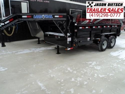 2018 Load Trail GD 83x14 Tandem Axle Gooseneck Dump Trailer....Stock#LT-53001