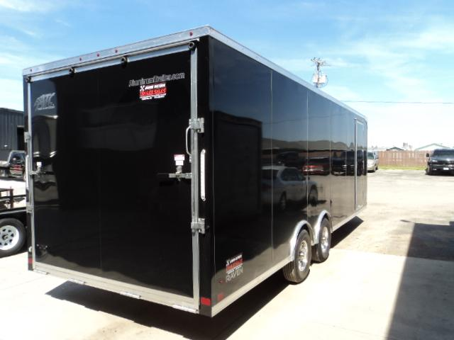 2017 ATC 8.5X24 Carhauler W/PREMIUM ESCAPE DOOR....STOCK # AT-9368